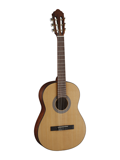 Pc75 classic <font><b>guitar</b></font> <font><b>3/4</b></font> with case, Parkwood image