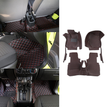 Foot-Mat Floor-Pad Car-Interior-Accessories JB64 JB74 Suzuki Jimny Anti-Skid-Protection
