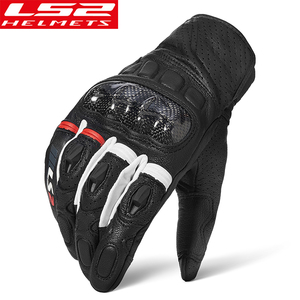 LS2 motorcycle riding gloves l