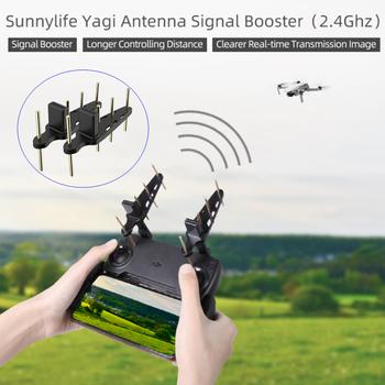 2 sztuk antena Yagi 2 4Ghz Drone pilot wzmacniacz sygnału anteny dla DJI Mavic Mini PRO Mavic 2 Phantom 4 Pro EVO II tanie i dobre opinie SUNNYLIFE CN (pochodzenie) 2Pcs Yagi Antenna 2 4Ghz Antenna FOR DJI Mavic Mini PRO Mavic 2 2 4Ghz Yagi Antenna