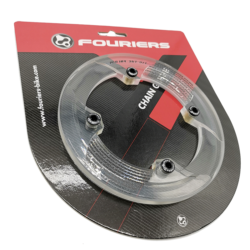 FOURIERS BCD104 Mountain Bike DH 4X FR Bicycle 30-40T Chainring Bash Guard S001