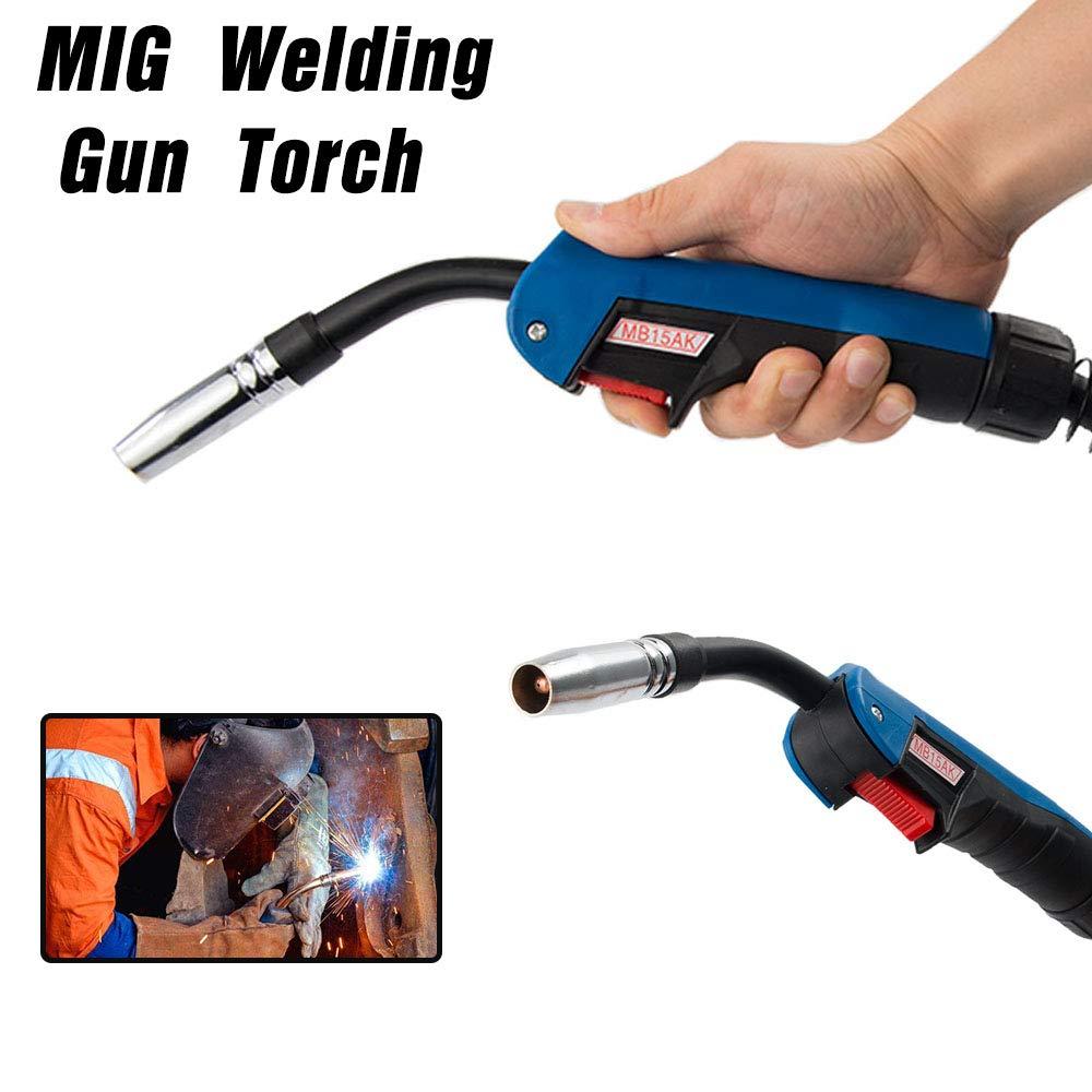 MIG Welding Gun 3m Air-cooled Euro Connector Wire 0 8 1 0 1 2mm 150A-250A MIG MAG Welding Machine 15AK Torch