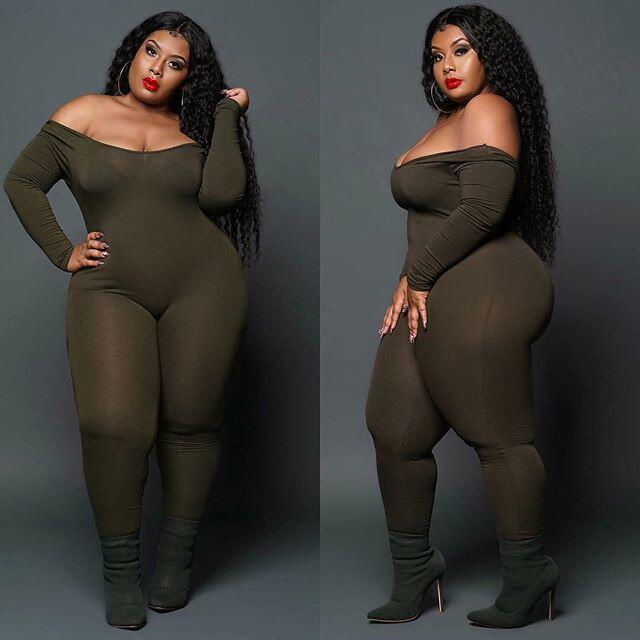 Adogirl L-4XL Plus Size Women Sexy Jumpsuit Off Shoulder Long Sleeve Skinny Romper Night Club Overalls