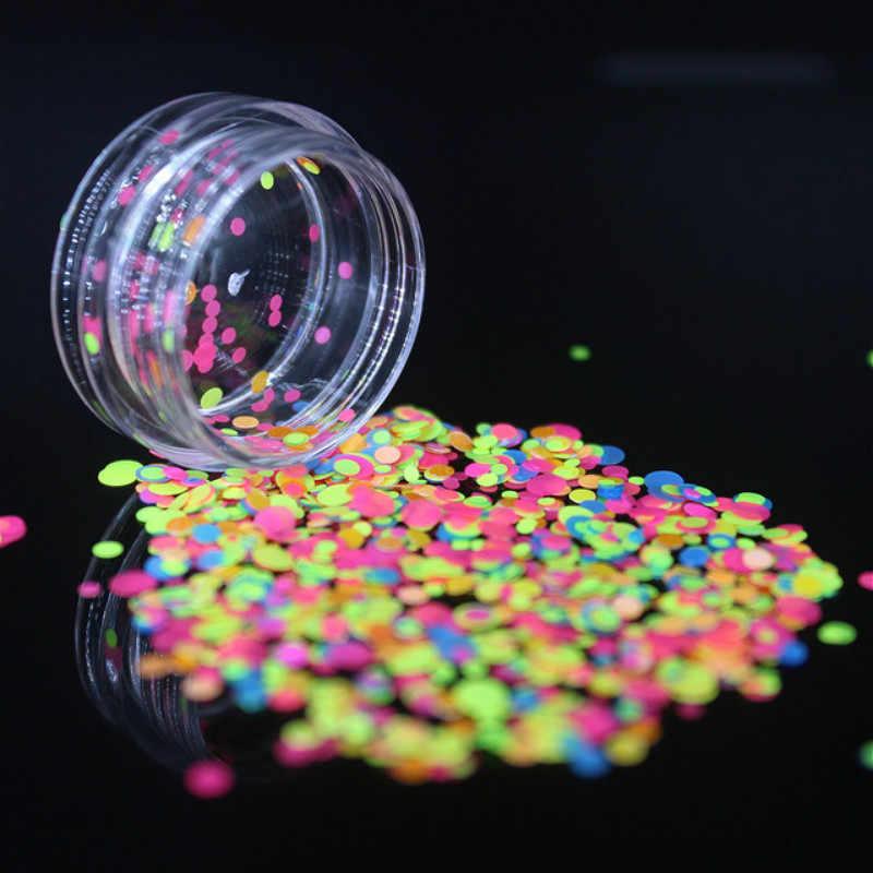 1PcsหัตถกรรมสีเหลืองSequins Craftของเล่นFimoเพิ่มเติมCharms Fluffy Slimeวัสดุล้างเล็บของเล่น