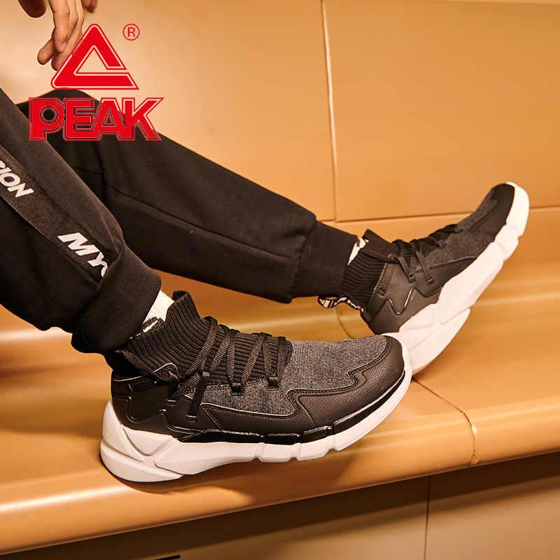 Tepe erkek moda yürüyüş ayakkabısı klasik eğlence yaşam tarzı ayakkabı giyilebilir kaymaz spor ayakkabılar nefes Sneakers