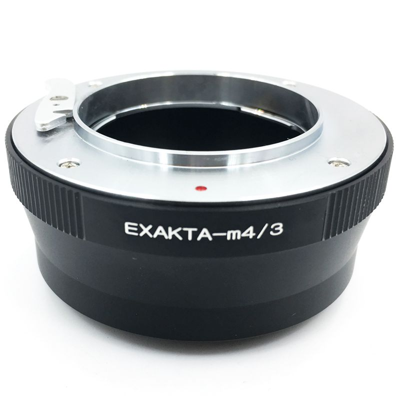 Hot Exa-M4/<font><b>3</b></font> <font><b>Adapter</b></font> Ring For Exakta Lens To <font><b>Micro</b></font>- <font><b>4</b></font>/<font><b>3</b></font> Body Gh4 Gh5 Bmpcc image