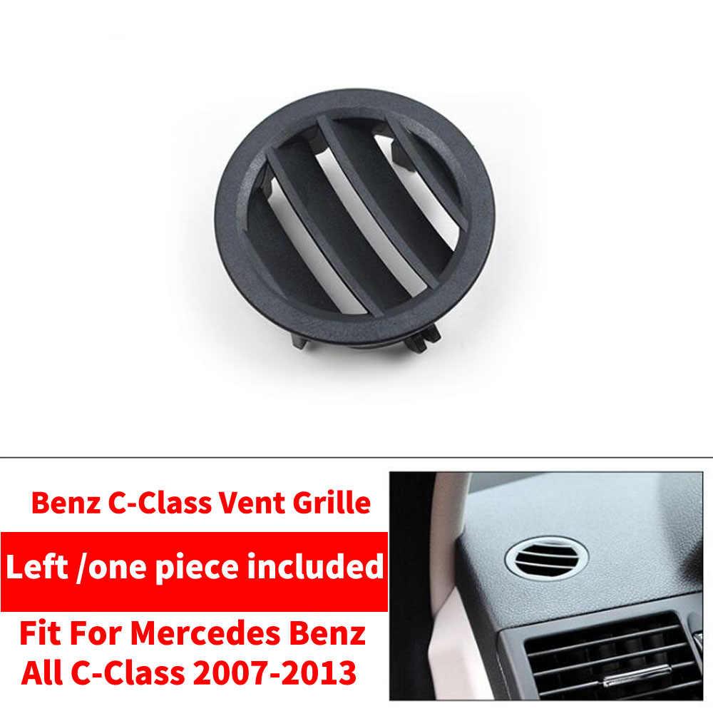 3 ชิ้น/เซ็ต LHD AC รถด้านหน้าซ้าย/ขวาคอนโซล Air Conditioner Vent Grille W204 สำหรับ Mercedes Benz C -Class C180 C200 GLK300
