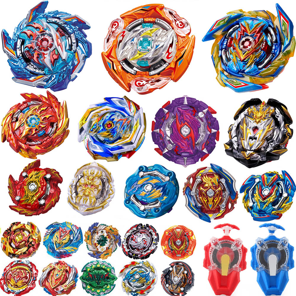 Tops Launchers Beyblade metal fusion B-143 Burst GT Toys Arena Metal God Bayblade Bay Bey Blade Blades Toy(China)