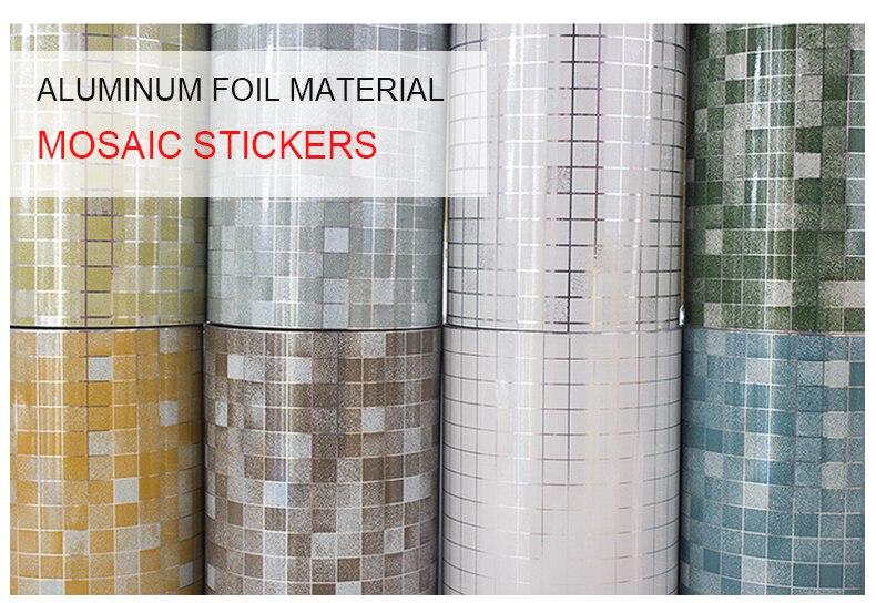 61 x 100 cm Wall Foil Decorative Sticker DIY Self-adhesive Window Decal