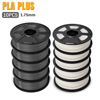 AW 3D PLA PLUS filamento 1.75mm 5KG/10KG filamenti di stampa 3D ad alta quantità PLA adatto per FDM 3D spedizione veloce