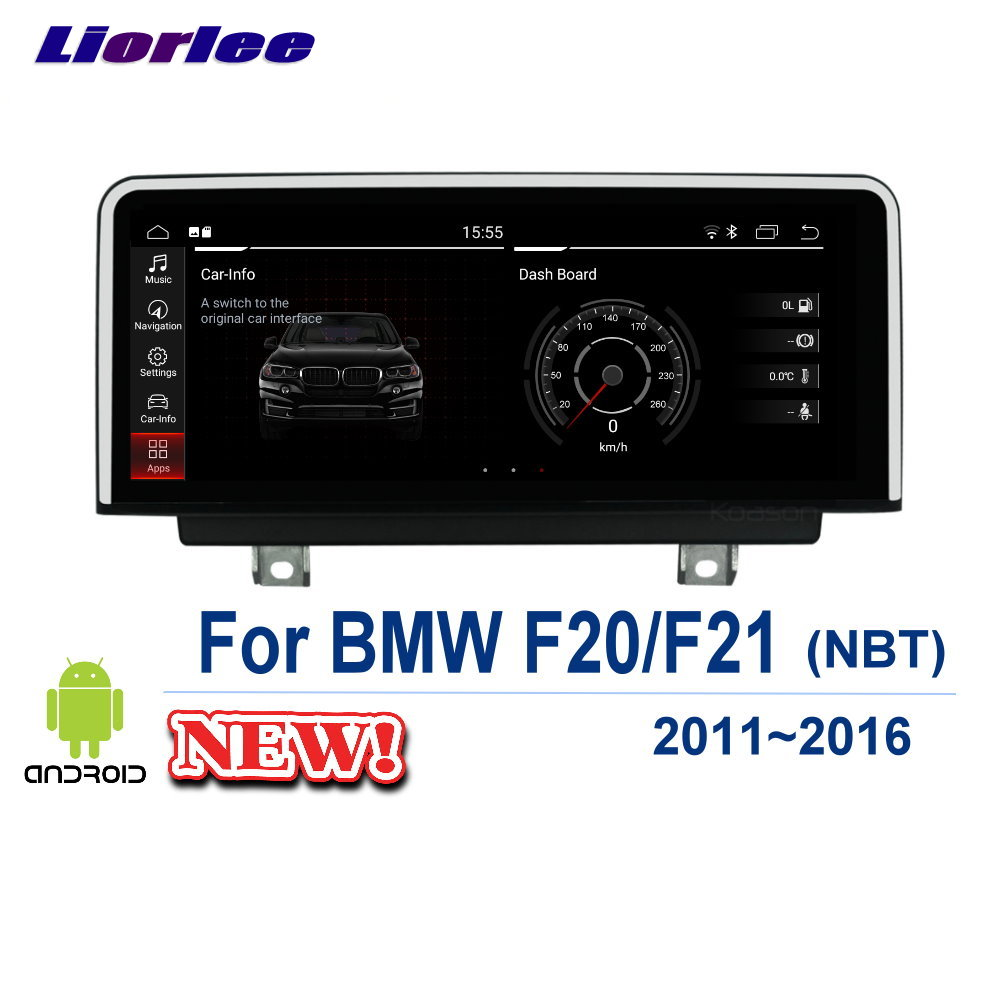 Liorlee Car GPS Navigation System For <font><b>BMW</b></font> 1 Series <font><b>F20</b></font> F21 2011-2016 Car Radio <font><b>Android</b></font> multimedia Player HD <font><b>Screen</b></font> image
