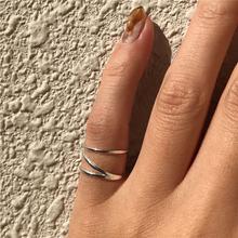 Pofunuo Настоящее серебро 925 пробы для женщин минимализм деликатные
