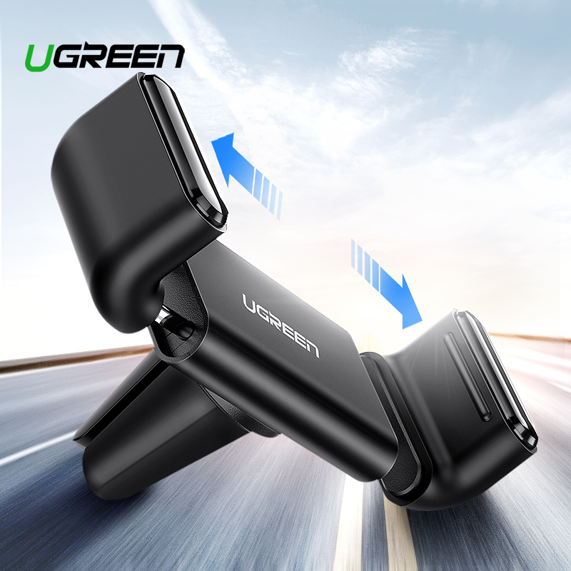 Ugreen Car Holder For IPhone X XS 8 Holder For Phone In Car 360 Rotate Air Vent Mount Car Phone Holder Mobile Phone Holder Stand