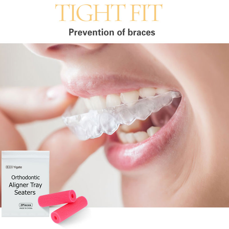 Invisible Correction Teether Bite Stick Orthodontics Rubber Orthosis Teeth Protection Oral Care Tool For Health