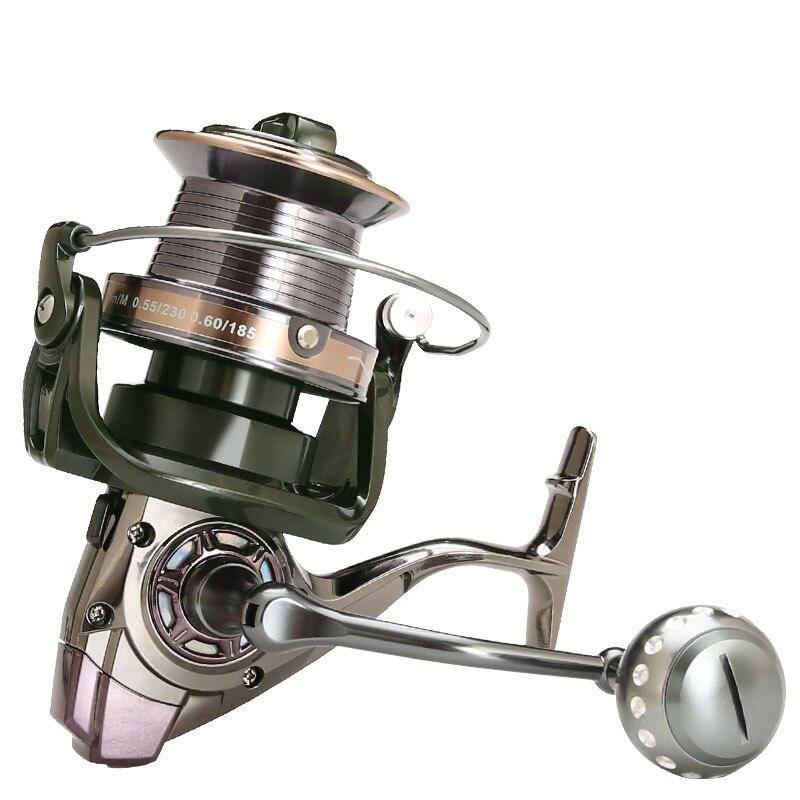 Sea Fishing Reel Spinning Carp Fishing Full Metal Spool Reel Drag 30kg Catfish Fish Spinning Reel Surfcasting Reel Fishing Reel