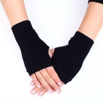1 para kobiety solidne kaszmir ciepłe zimowe rękawiczki zimowe rękawiczki damskie rękawiczki bez palców kobiety ręka ocieplacz na nadgarstek rękawiczki tanie i dobre opinie Stałe DO NADGARSTKA Dla osób dorosłych CN (pochodzenie) WOMEN CASHMERE moda One Size 1*Pair of Gloves