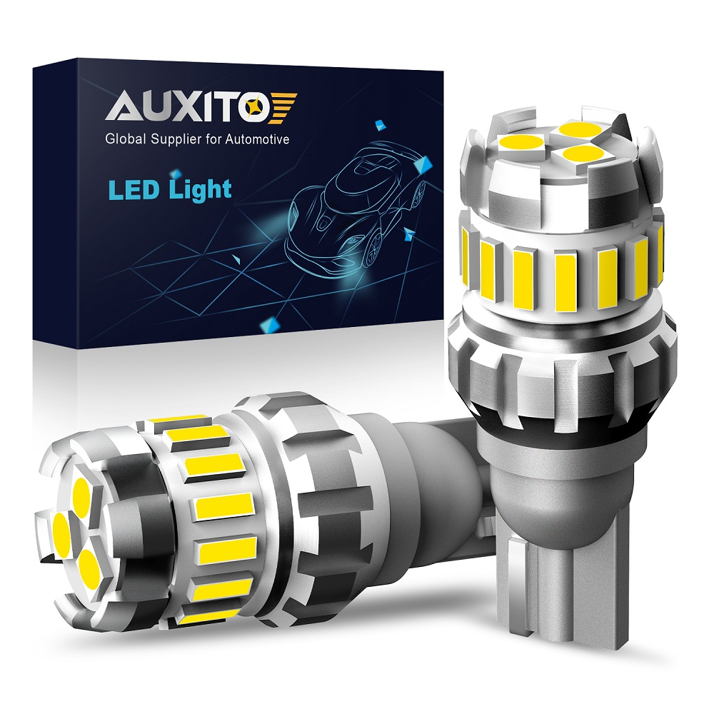 AUXITO 1200Lm W16W T15 LED Bulbs Canbus OBC Error Free LED Backup Light 921 912 W16W Car Reverse Lamp For BMW AUDI Mercedes Benz