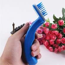 Щетка для удаления волос расческа триммер инструмент чистки