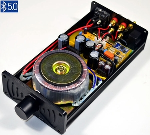 Image 1 - 새로운 LM3886 미니 파워 앰프 HiFi 블루투스 파워 앰프 오디오 40W + 40W