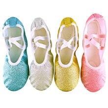 Ballet-Shoes Dance-Slippers Ballerina Gym Soft-Sole Professional Yoga Girls Woman Children