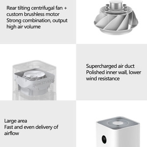 Image 4 - Original Xiaomi Mi Air Purifier 3 Sterilizer Addition To Formaldehyde OLED Touch Screen Phone APP And AI Voice Smart Control
