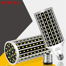 OUFLA LED Corn lamp high power E27 E26 50W highlight suitable for factory workshop warehouse supermarket shopping mall