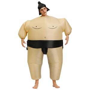 Image 5 - Nowe kostiumy dla dorosłych dzieci Party nadmuchiwane kostiumy element ubioru śmieszne nosić spodnie świętego mikołaja Halloween karnawał Xmas kostium klauna