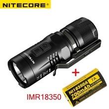 NITECORE linterna LED EC11 CREE XM L2, U2, 900 lúmenes, impermeable, rescate, búsqueda para exteriores, Camping, envío gratis