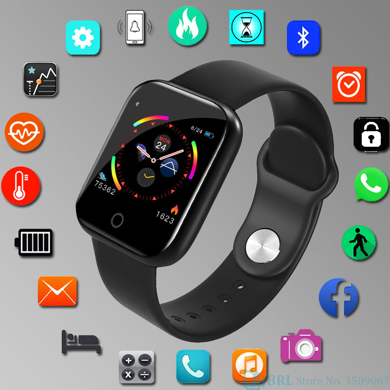New Smart Watch Men Women Smartwatch For Android IOS Electronics Smart Clock Wach Fitness Tracker Silicone Strap Smart-watch