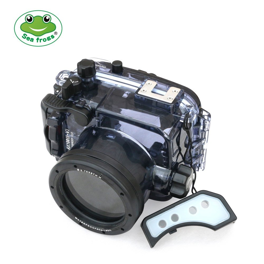 Image 3 - Seafrogs 60m/195ft Underwater Camera Housing for Sony DSC RX100(I V) M2 M3 M4 M5Camera/Video Bags   -