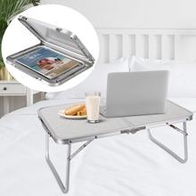 Складной столик для ноутбука lapнастольная кровать для завтрака сервировочный лоток портативный мини стол для пикника Подставка для рук подставка для чтения для дивана