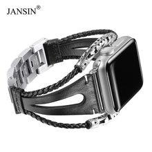 Кожаный ремешок для apple watch series 6 5 4 3 se браслет ручной