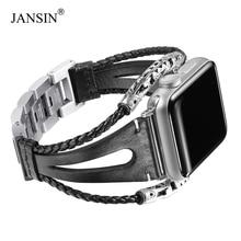 Lederen Loop Band Voor Apple Horloge Serie 6 5 4 3 Se Armband Handgemaakte Natuurlijke Lederen Band Voor Iwatch 38Mm 42Mm 40/44Mm