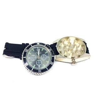Reloj de pulsera clásico, molinillo de hierba, trituradora de tabaco de Metal, trituradora estilo reloj a la moda, accesorios para Fumar hierba