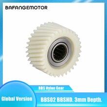 Bbs02 engrenagem de náilon bbshd engrenagem de redução de náilon bbs02 nova versão de plástico engrenagem de náilon para bbs 02 hd mid drive motor