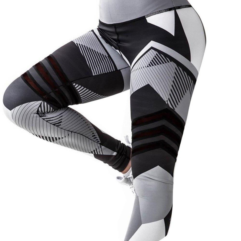 BEFORW 2020 Fashion Polyester Digital Printing Leggings Plus Size Women Sexy Workout Black Leggings Camouflage Camo Pants 5