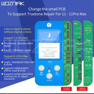 Image 1 - JC V1s v1 For iphone 7 11ProMax Photosensitive Original Color Touch Shock Baseband Logic Almighty Battery Fingerprint Programmer