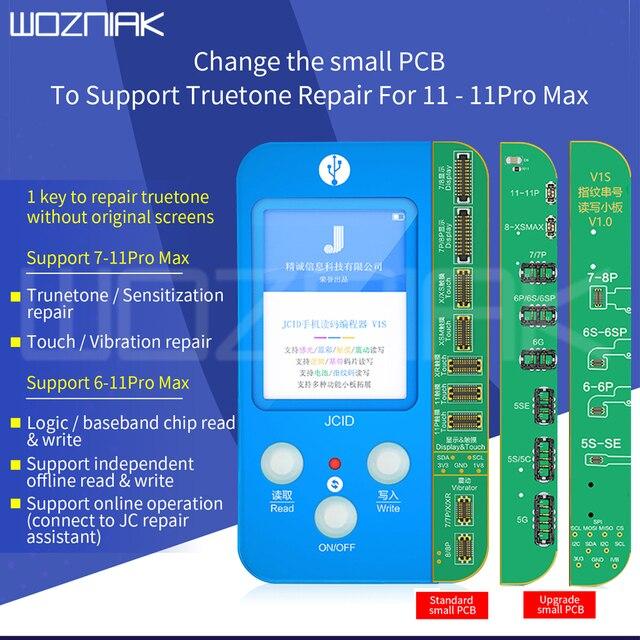 JC V1s v1 For iphone 7 11ProMax Photosensitive Original Color Touch Shock Baseband Logic Almighty Battery Fingerprint Programmer