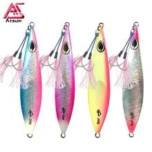 Slow Fall Rictor Mk1 Realfish Jigs With Hooks Bundle T Snaps Scads Baitfish