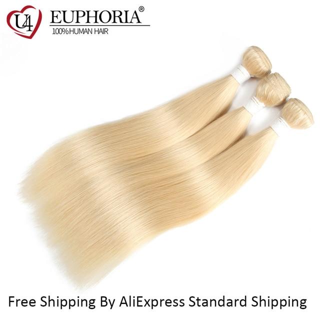 Honey Blonde 613 Straight Hair Bundles Weave Ombre (Brazilian) 2