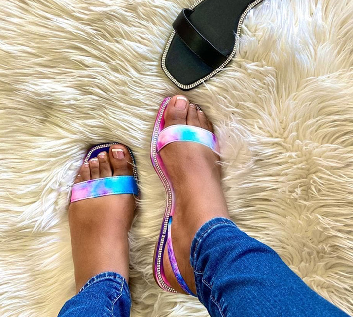 NAN-JIU-MOUNTAIN-2020-Flat-Women-Sandals-Summer-Slippers-Handmade-Rhinestone-Sandals-Beach-Slippers-Women-Shoes
