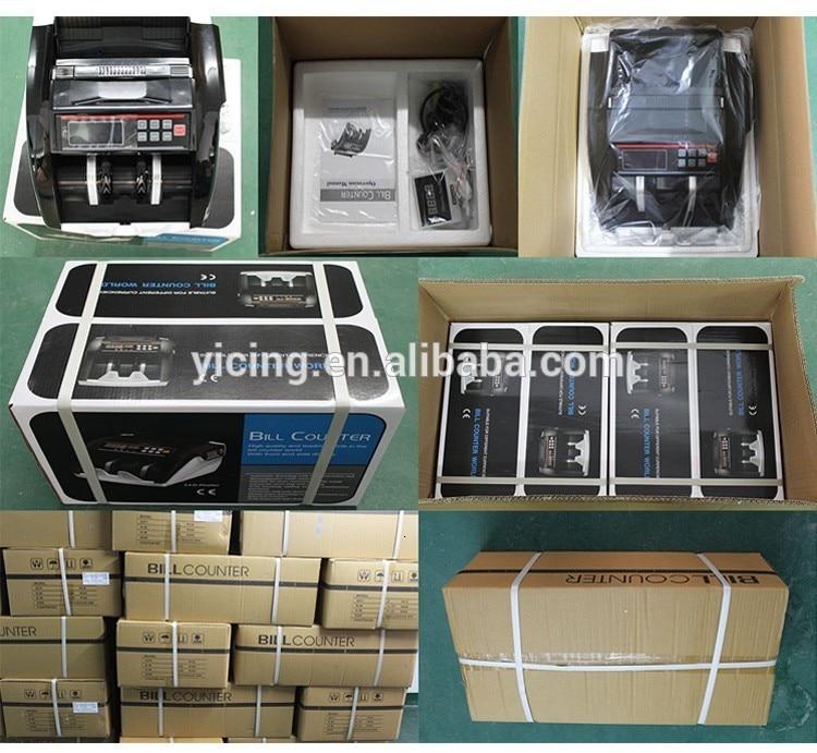 bateria plug máquina contador de dinheiro acessível