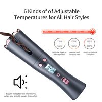 Automatic Hair Crimper USB Cordless Hair Curler Curling Iron Wand Auto Ceramic Hair Waver Professional Hair Styling Tools 2021 4