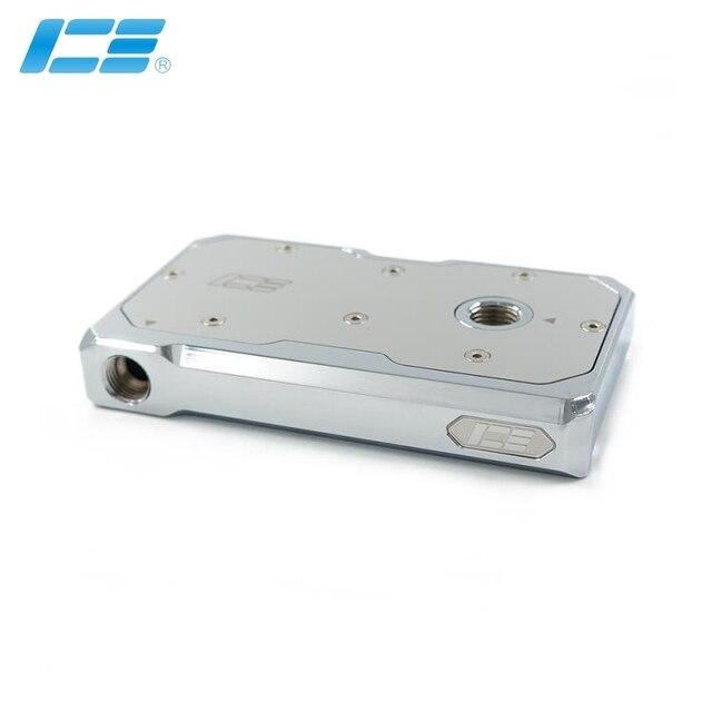 النحاس النقي المزدوج DDC مضخة تعديل الغطاء العلوي IceMan برودة مياه التبريد الكهربائي مضخة تجديد الغطاء الأمامي مرآة تأثير