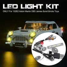 Светодиодный светильник ing Kit для Lego 10262 Aston для DB5 светильник, игрушки, только светильник(не включает модель