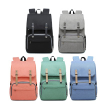 Korean version of the Mummy bag backpack multi-function large capacity out treasure mother back milk enhanced