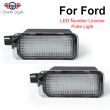 Led License Plate Light Lamp For Jaguar XJ XF Ford Escape B-Max WAGON CARGO Transit Fiesta Focus S-MAX C-MAX Mondeo Kuga Galaxy