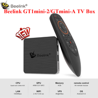 Beelink GT1mini 2 GTmini A Android 9.0/8.0 TV Box Smart Amlogic S905X3 4GB 64GB BT 2.4G+5.8G WiFi 4K 1000Mbps 2.4G Voice Remote