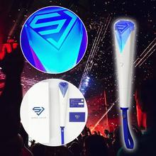 Official Light Stick For Super Junior Concert Tour Hand Lamp Lights Concert Glow Stick Lamp Mini Lightstick For Fans luminous toy army bomb 3 light stick ver 3 bts bangtan boys concert light up lamp stick army bomb ver 3 lightstick light toys
