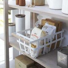 Экспортный заказ хипстер белый лак для выпечки корзина для мусора сталь изысканный дом
